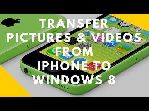 How to copy photos from iphone to pc windows 8