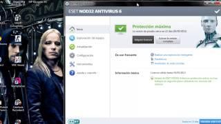 Como Instalar y crackear Eset nod32 antivirus 6