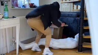 Near to heart attack😱😱(Woody & Kleiny ) [prank] Did you watch this? 👉
