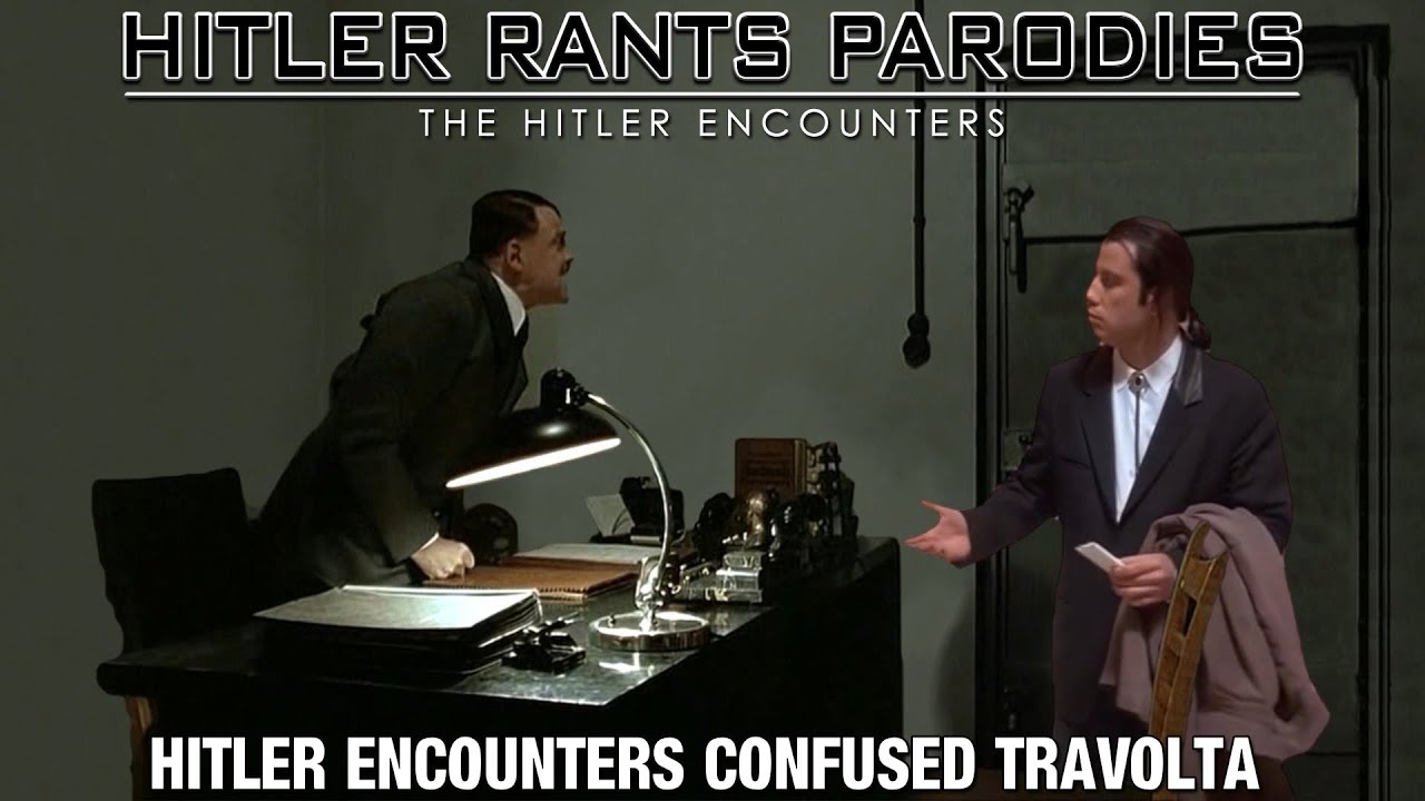 Hitler encounters Confused Travolta