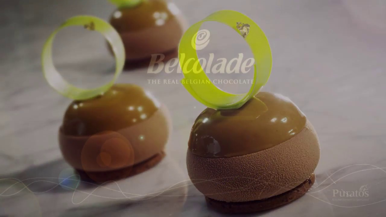 Belcolade Spher'o Pomme recipe - Step 6 : Decoration and embly ... on