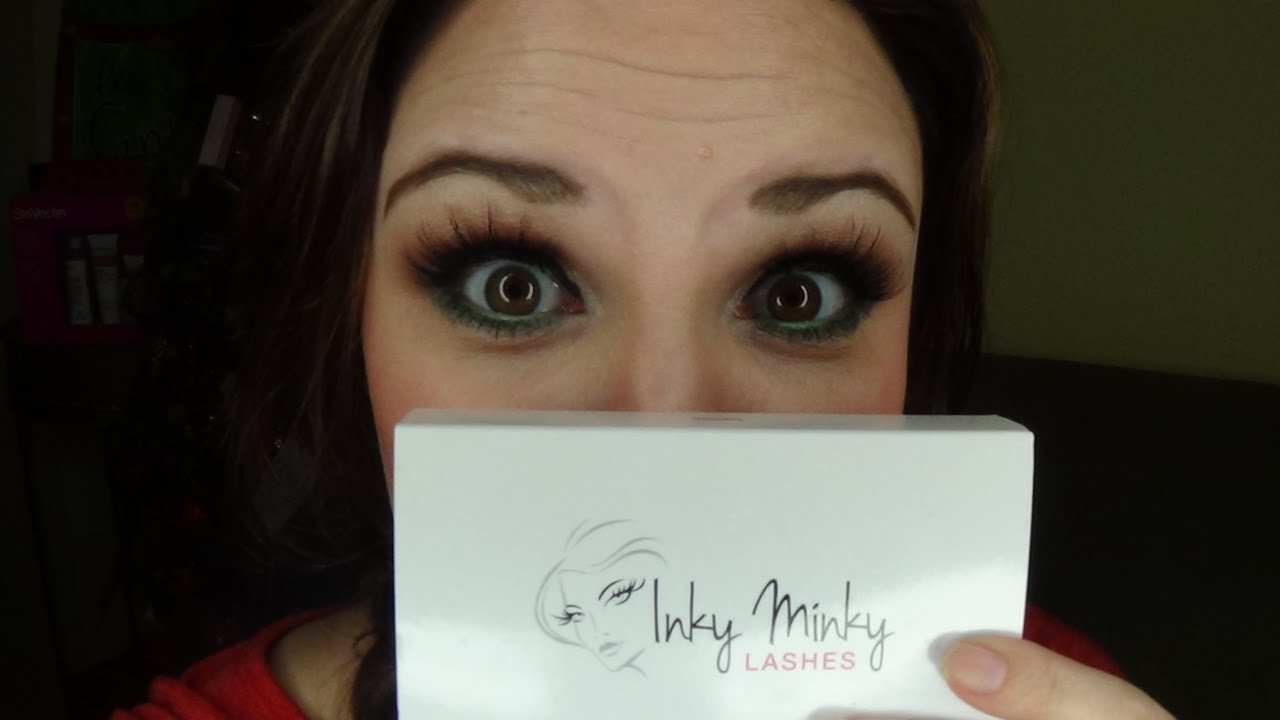 Inky Minky Lashes Review! - YouTube