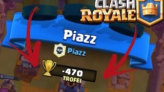 I LOST 470 cups. ABSURD! | Clash Royale ITA