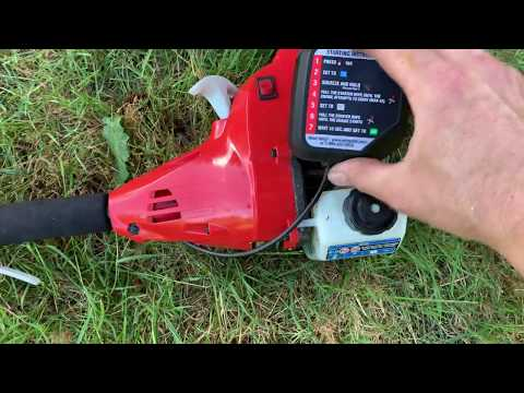 Homelite 26cc Gas Trimmer Review. Model: UT26CSEMC