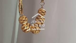 Jewelry NUVO Lex Cutting Ball Bracelet 01