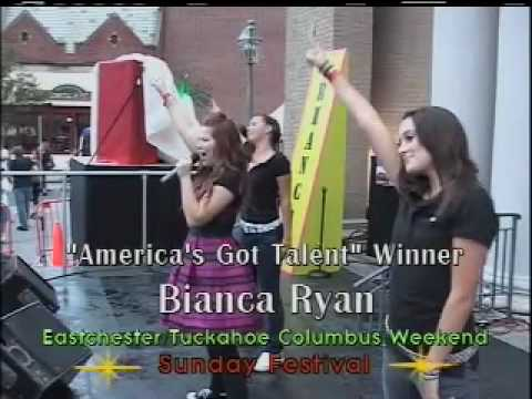 "Bianca Ryan  ""Superstar"" & ""Rockstar"" ~ Live in Tuckahoe"