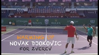 Fourth Training With Novak Djokovic - Part 2   Rolex Shanghai Masters 2018 (TENFITMEN)