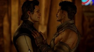 DA: Inquisition. Ending (all romances)