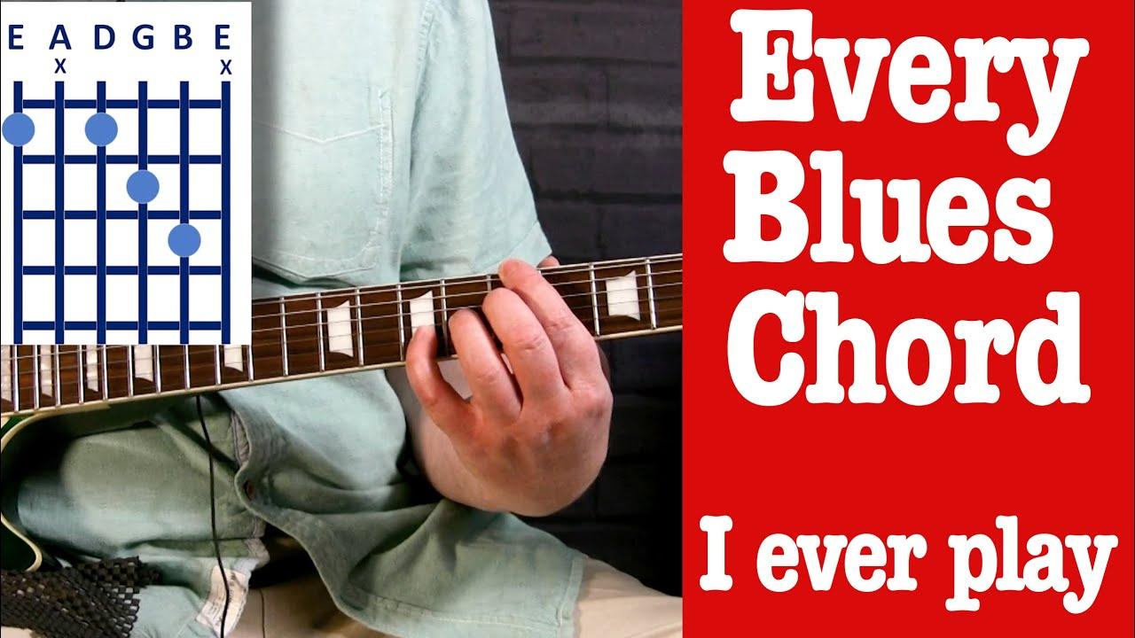 Blues Chords Guitar Lesson
