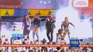 Download Fifth Harmony  - Down (Live on Good Morning America) MP3 song and Music Video