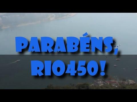 Parabéns Rio450 - #ORIOQUEMEINSPIRA