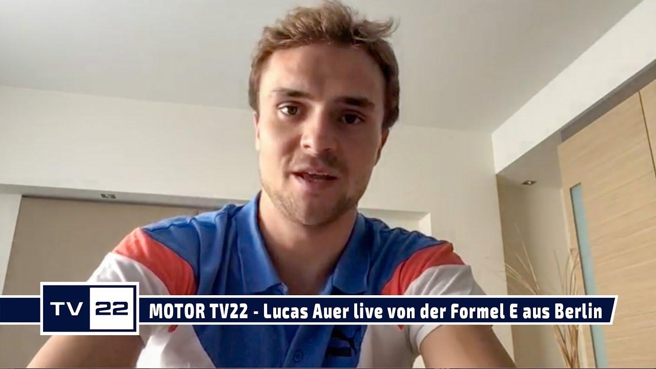 MOTOR TV22: Lucas Auer live von der Formel E aus Berlin