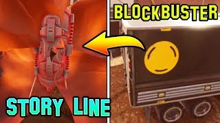*NEW* FORTNITE STORY-LINE *GOVERNMENT PLOT* (Blockbuster Skin Info)