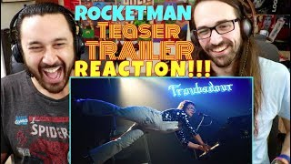 ROCKETMAN (2019) - Official Teaser TRAILER REACTION!!!