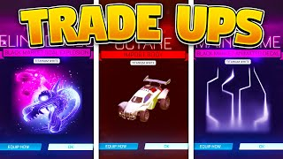 BEST TRADE UPS On Rocket League In SEASON 3!