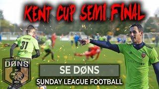 SE DONS vs BRADSTOW ALBION | KENT CUP SEMI FINAL | Sunday League Football