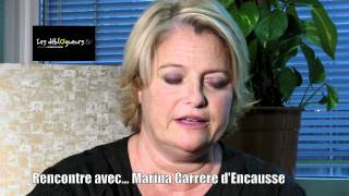 Rencontre avec Marina Carrere d Encausse