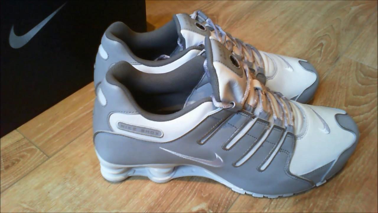 a276fae01da571 Nike NikeID Shox NZ Custom Designed Shoes Grey - YouTube