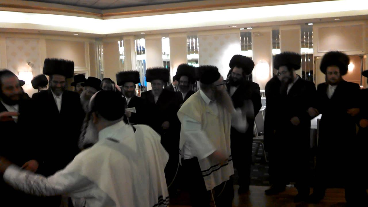 jewish hasidic wedding dancing youtube