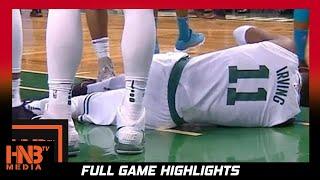 Boston Celtics vs Charlotte Hornets 1st Qtr Highlights / Week 4 / 2017 NBA Season