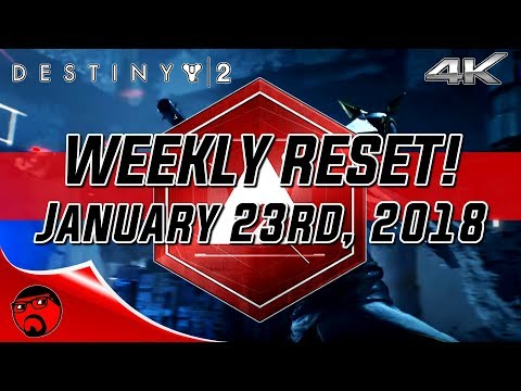 Destiny 2 Weekly Reset - New Monarchy WINS Faction Rally! [4K]
