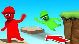 Make The JUMP Before It MOVES! (Human Fall Flat)