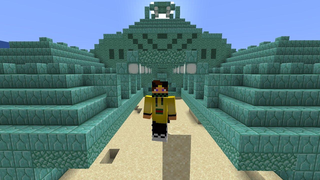 @Marcy TROVA IL MONUMENTO OCEANICO NELLA BIG VANILLA - Minecraft uta #story
