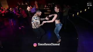 Ernesto Bulnes and Missy Anette Salsa Dancing at Berlin Salsacongress 2018, Sunday 07.10.2018