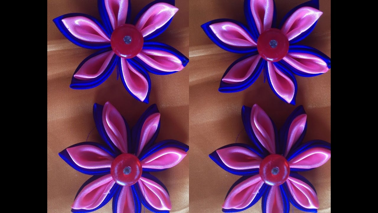 Cloth Flower Making Youtube