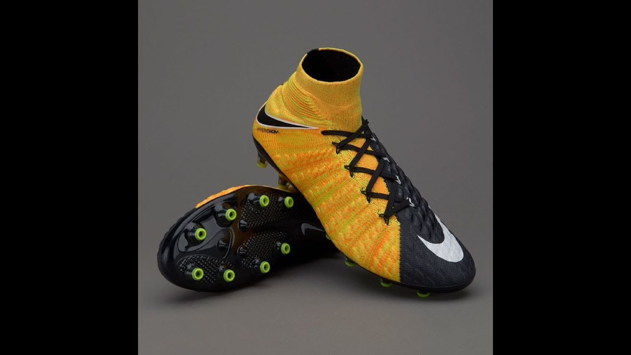 shoes for cheap more photos best choice Nike Hypervenom Phantom III DF AG Pro with Black and Laser ...