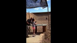 Nine-year-old girl accidently kills shooting instructor