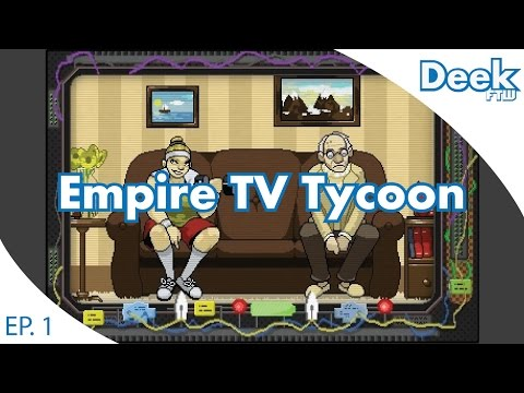 Run Your Own TV Network - TV Empire Tycoon - Part 1