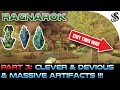 watch he video of PART 3: RAGNAROK EPIC HIDDEN PUZZLE ARTIFACT LOOT CAVE - 3x Artifacts + End Cave Fight + THE EXIT