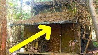 Agente forestal encuentra una misteriosa cabaña en el bosque, al entrar se llevó una enorme sorpresa