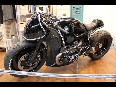 bmw r nine t custom project | café racer style custom motorcycle