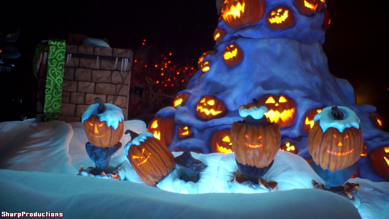 haunted mansion holiday 2013 on ride disneyland youtube - Halloween Holiday