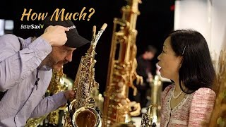 How Much for a Saxophone with MY Logo? | MusikMesse 2019