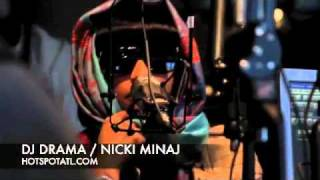2010 NICKI MINAJ INTERVIEW WITH DJ DRAMA CHOP IT UP ABOUT PINK FRIDAY ALBUM