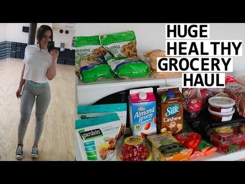 Huge Healthy Grocery Haul |My Staple Foods| +Giveaway Winners