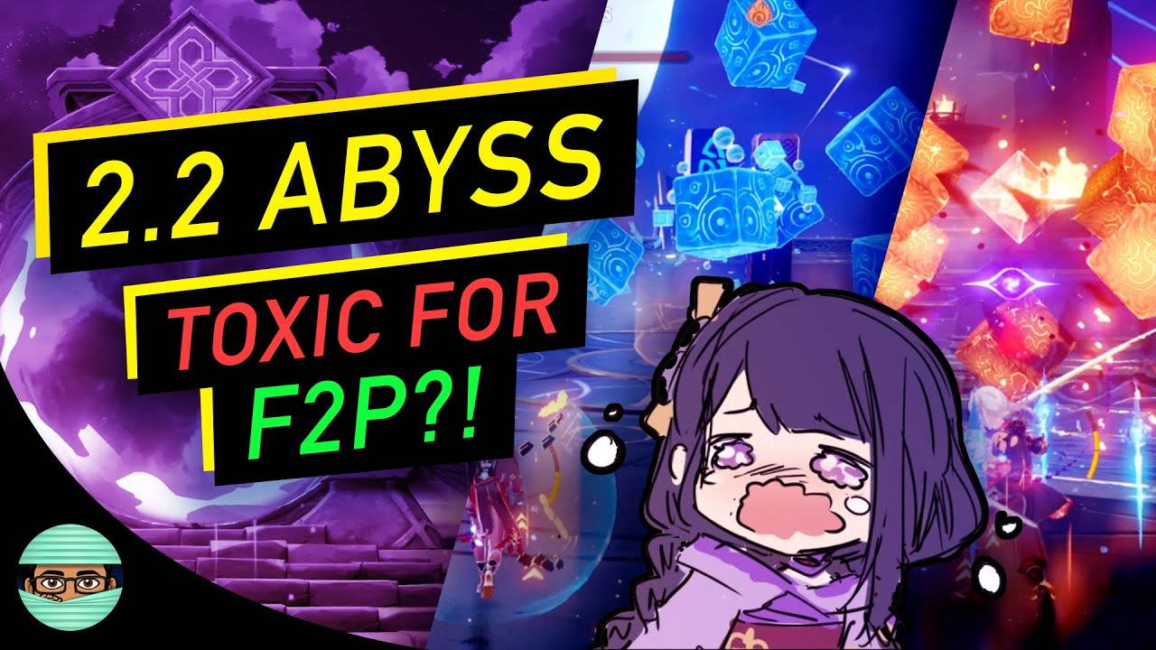 2.2 Spiral Abyss Looks TOUGH for F2P | First Clear Battle Pass Welkin Only Account | Genshin Impact