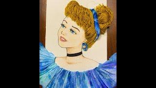 신데렐라 그리기 Cinderella Drawing