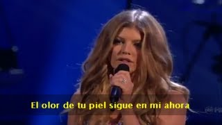 Fergie - Fergalicious / Clumsy & Big Girls Don't Cry (Subtitulado en español) (Live)