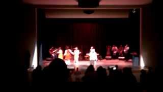 Dance Like David- Ishika Charles at the Gospel Concert