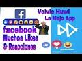 Como Tener Muchos LIKES y REACCIONES en FACEBOOK 2020 | Vovio Huwi La Mejor App