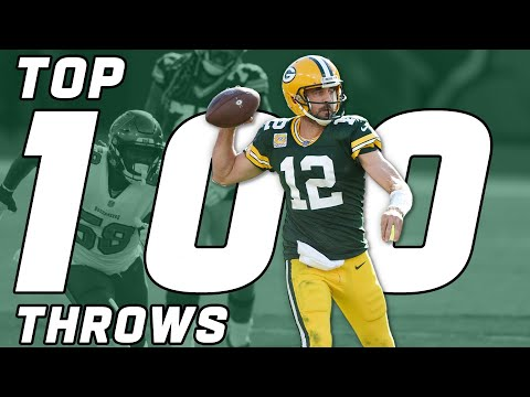[NFL] Top 100 Throws of the 2020 Season