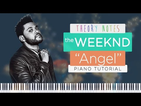 How to Play The Weeknd - Angel | Theory Notes Piano Tutorial
