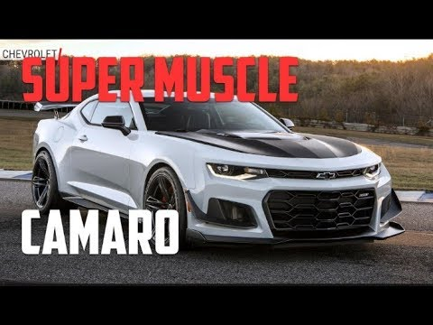 New 2020 Camaro Zl1 Fastest New American Muscles Out