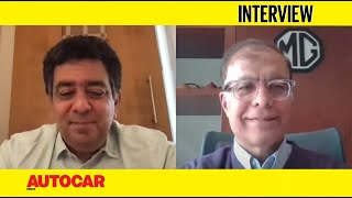 Sub-Rs 20 lakh MG EV for India, ZS EV with 500km range & more: Rajeev Chaba |Interview|Autocar India