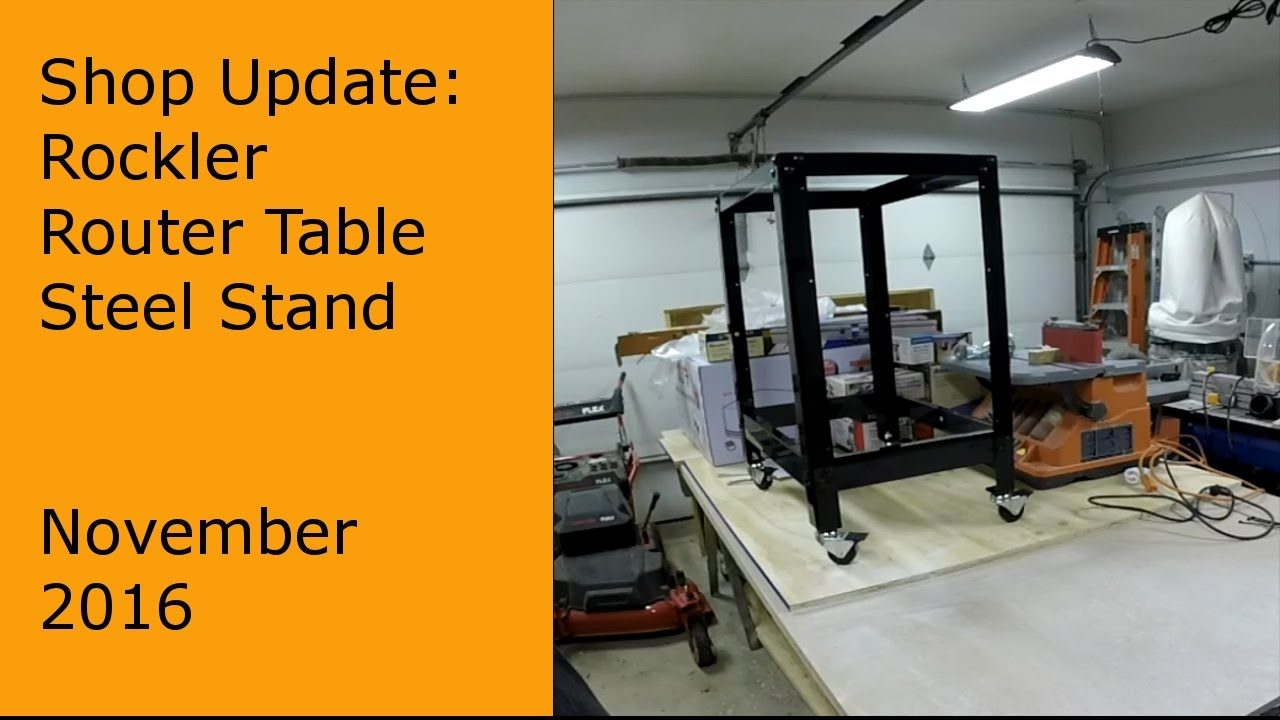 Building rockler router table stand 48426 youtube building rockler router table stand 48426 keyboard keysfo Choice Image