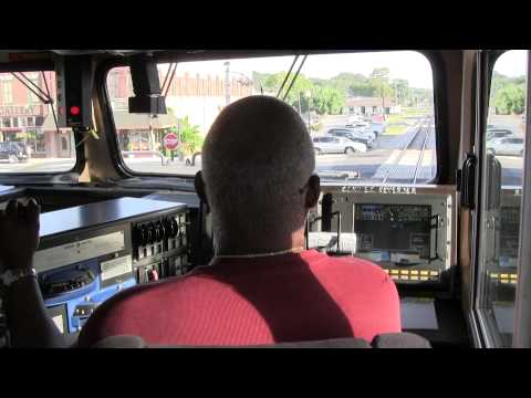 Locomotive Engineer Mike Barnett